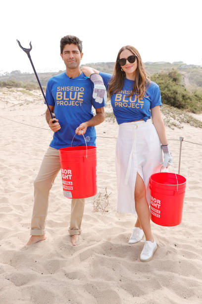 CA: Actor/Environmentalist Adrian Grenier Hosts Beach Cleanup With World Surf League Pure And Wildcoast Hosted by Shiseido Blue Project