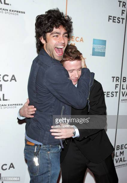 Adrian Grenier and Kevin Connolly during 6th Annual Tribeca Film Festival Gardener of Eden Outside Arrivals at Tribeca Performing Arts TPAC in New...