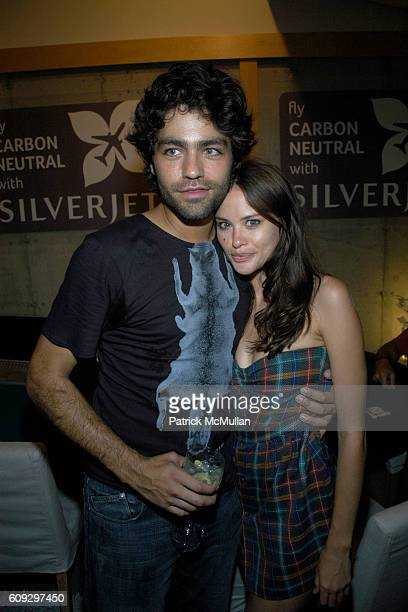 Adrian Grenier and Kristina Ratliff attend PROJECT GREENHOUSE and ADRIAN GRENIER host the Closing Reception for Project GreenHouse Hamptons and a...