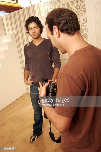 Adrian Grenier and Photographer Jeff Vespa during 2006 Diesel Portrait Studio Presented by Inside Entertainment and Wireimage Day 2 at Portrait...