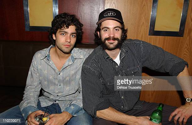 Adrian Grenier and Rhys Coiro during 3rd Anniversary Celebration of LIGHT Nightclub at The Bellagio at Caramel at The Bellagio in Las Vegas Nevada