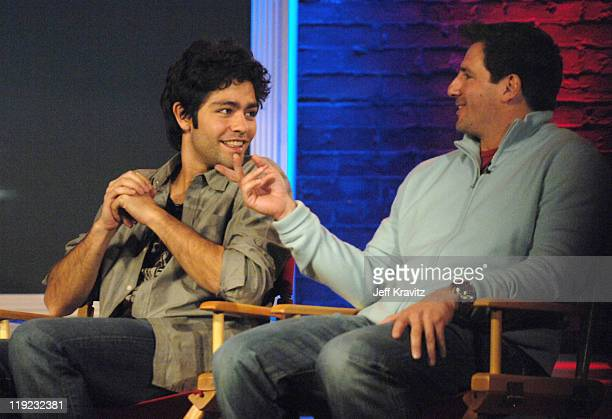 Adrian Grenier and Stephen Levinson during HBO's 13th Annual U.S. Comedy Arts Festival - Entourage: Behind the Scenes - Panel at St. Regis Hotel in...