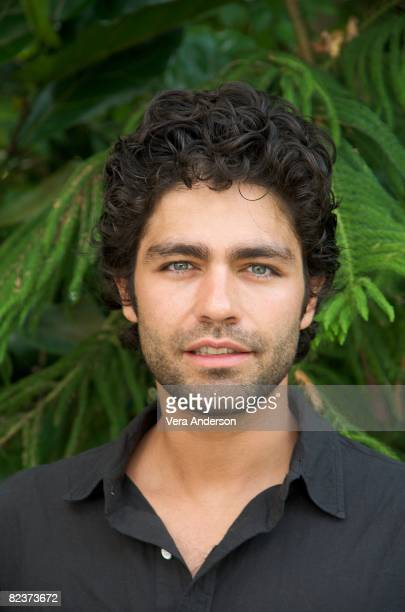 Adrian Grenier at the Entourage press conference at the Four Seasons Hotel on August 13 2008 in Beverly Hills California