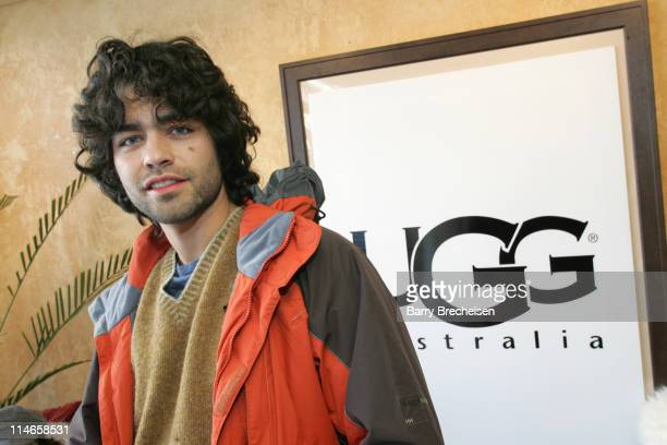 Adrian Grenier at Ugg during 2006 Park City Uggs at Village at The Lift Day 3 at Village at the Lift in Park City Utah United States