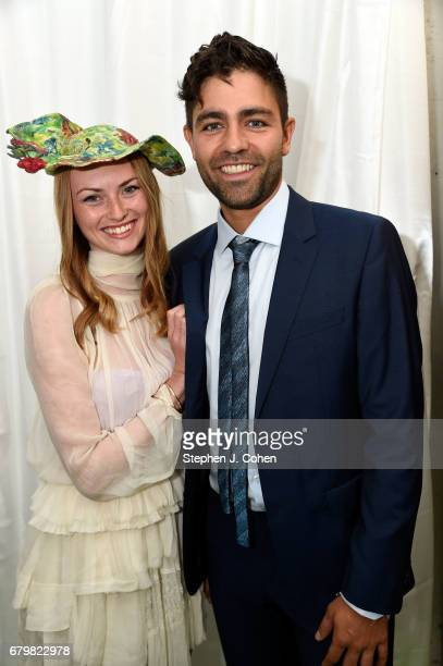 Adrian Grenier attend the 143rd Kentucky Derby at Churchill Downs on May 6 2017 in Louisville Kentucky