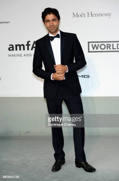 Adrian Grenier attends amfAR's 21st Cinema Against AIDS Gala Presented By WORLDVIEW, BOLD FILMS, And BVLGARI at Hotel du Cap-Eden-Roc on May 22, 2014...