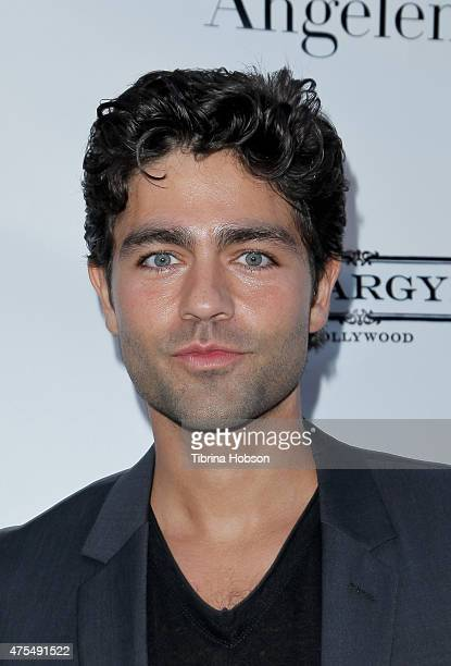 Adrian Grenier attends Angeleno Magazine's June issue release party at The Argyle on May 31 2015 in Hollywood California