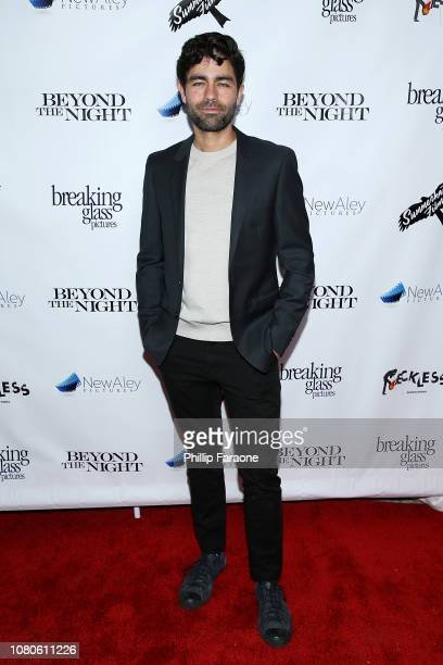 "Adrian Grenier attends Breaking Glass Pictures' ""Beyond The Night"" premiere at Ahrya Fine Arts Theater on January 10, 2019 in Beverly Hills,..."