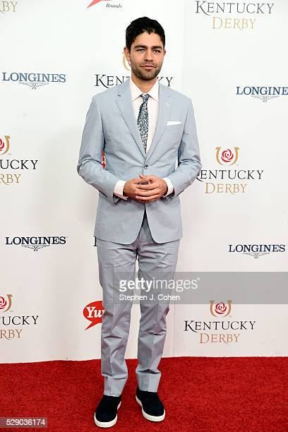 Adrian Grenier attends the 142nd Kentucky Derby at Churchill Downs on May 7 2016 in Louisville Kentucky