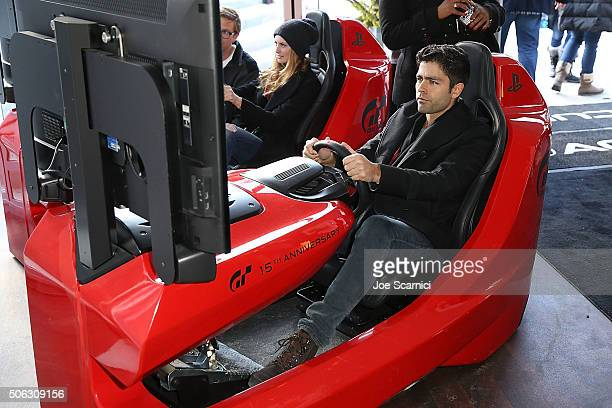 Adrian Grenier attends the Acura Studio at Sundance Film Festival 2016 on January 22 2016 in Park City Utah