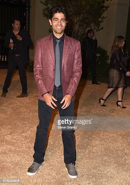 Adrian Grenier attends the Burberry 'London in Los Angeles' event at Griffith Observatory on April 16 2015 in Los Angeles California