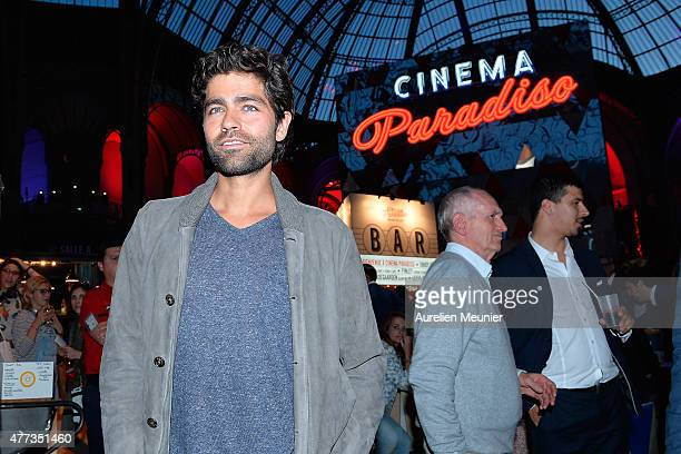 Adrian Grenier attends the 'Cinema Paradiso' opening ceremony at Grand Palais on June 16, 2015 in Paris, France.