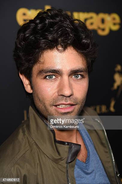 Adrian Grenier attends the Entourage New York Premiere at Paris Theater on May 27 2015 in New York City