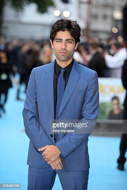 "Adrian Grenier attends the European Premiere of ""Entourage"" at Vue West End on June 9, 2015 in London, England."