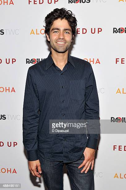 "Adrian Grenier attends the ""Fed Up"" premiere at the Museum of Modern Art on May 6, 2014 in New York City."