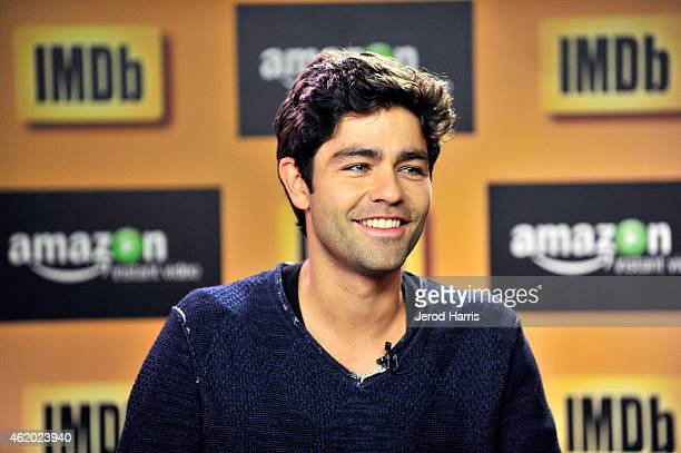 Adrian Grenier attends the IMDb Amazon Instant Video Studio at the village at the lift on January 23 2015 in Park City Utah