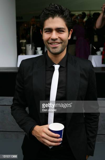 Adrian Grenier attends the Lavazza marquee during Melbourne Cup Day at Flemington Racecourse on November 1, 2011 in Melbourne, Australia.