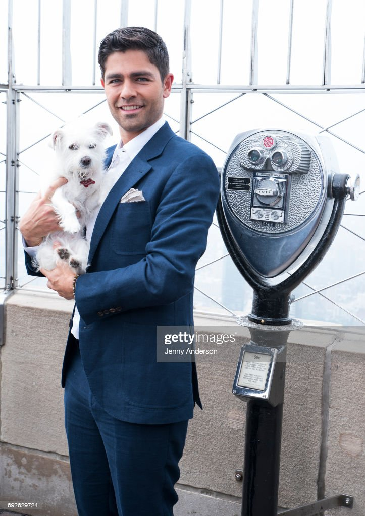 Adrian Grenier Lights The Empire State Building In Commemoration Of World Environment Day