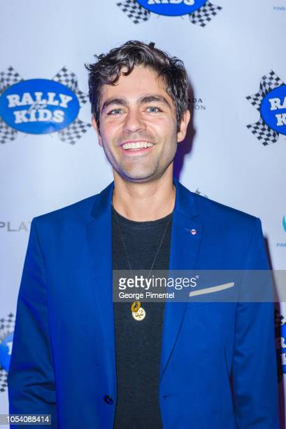 Adrian Grenier attends the Rally For Kids Scavenger Cup In Toronto The Qualifiers Celebrity Draft Party at the Hotel X's High Park Terrace on October...