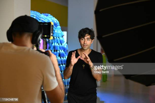 Adrian Grenier celebrates the opening of the Museum of Plastic presented by Lonely Whale, co-hosted by Ever & Ever, HP, attn:, and S'well in SoHo on...