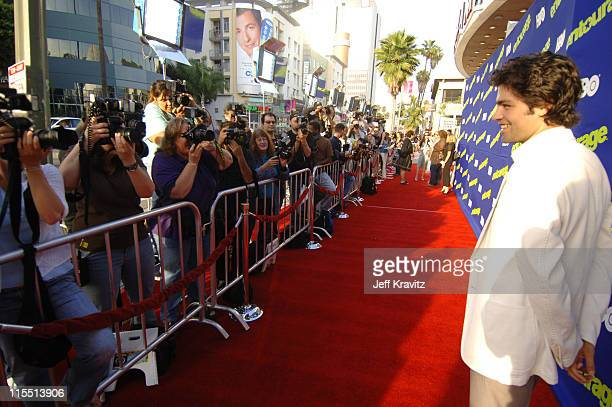 Adrian Grenier during Entourage 2006 Season Premiere Red Carpet at Cinerama Dome in Hollywood California United States