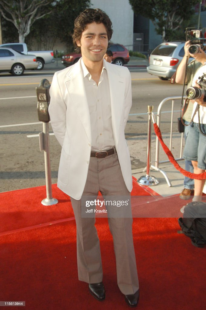 Adrian Grenier during 'Entourage' 2006 Season Premiere - Red Carpet at Cinerama Dome in Hollywood, California, United States.