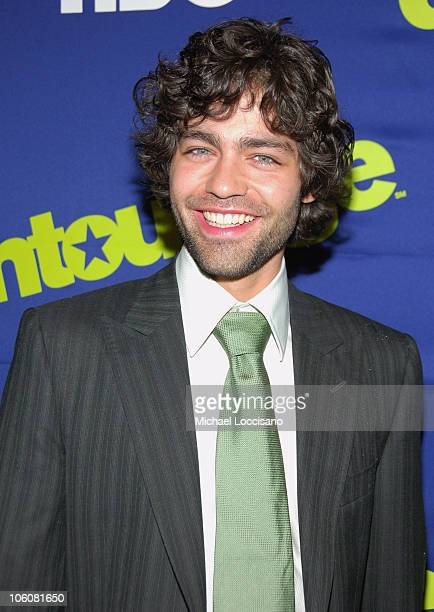 Adrian Grenier during Entourage Season Three New York Premiere Arrivals at Skirball Center for the Performing Arts at NYU in New York City New York...