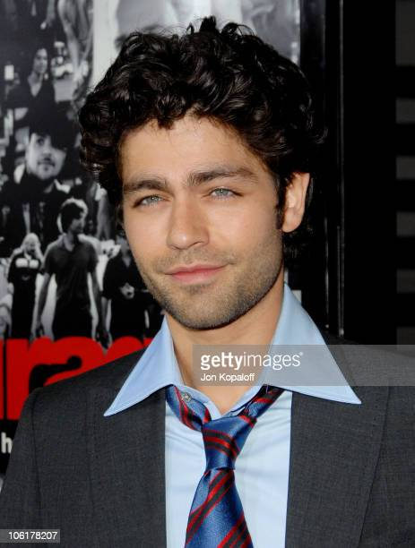 Adrian Grenier during Entourage Third Season Premiere in Los Angeles Arrivals at ArcLight Cinerama Dome in Hollywood California United States