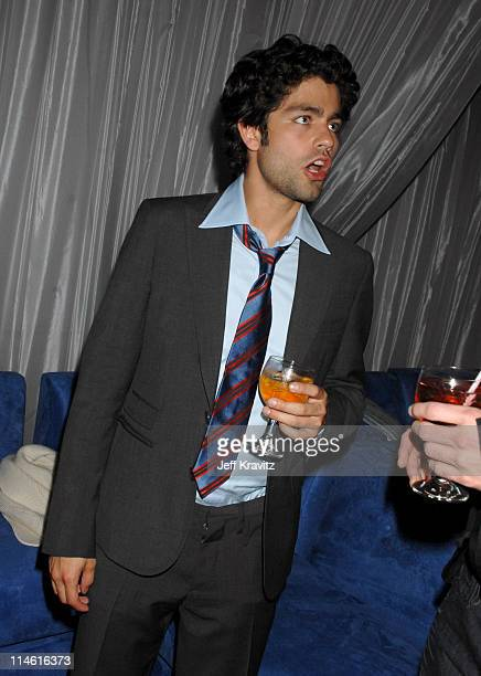 Adrian Grenier during Entourage Third Season Premiere in Los Angeles After Party in Los Angeles California United States
