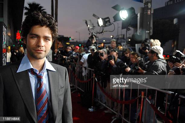 Adrian Grenier during Entourage Third Season Premiere in Los Angeles Red Carpet at The Cinerama Dome in Los Angeles California United States