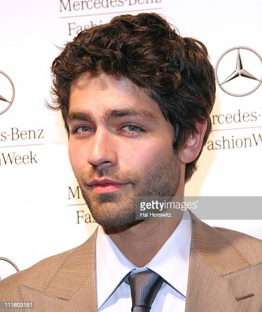 Adrian Grenier during Mercedes-Benz Fashion Week Fall 2007 - Official Fashion Week Kick-Off Party in New York City, New York, United States.