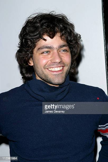 Adrian Grenier during New York Premiere of 'XX/XY' at the Gen Art Eighth Annual Film Festival at Loews Astor Plaza in New York City New York United...