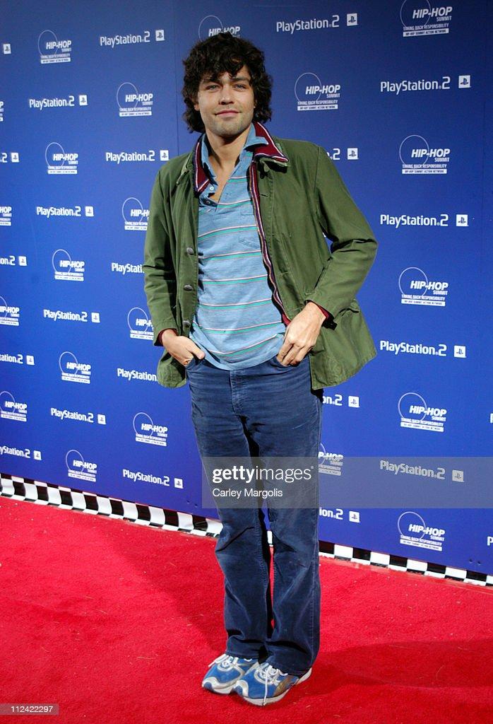 Adrian Grenier during Sony Playstation 2 Teams with Russel Simmons and the Hip-Hop Summit Action Network to 'Race to the Polls' - Arrivals at Hammerstein Ballroom in New York City, New York, United States.
