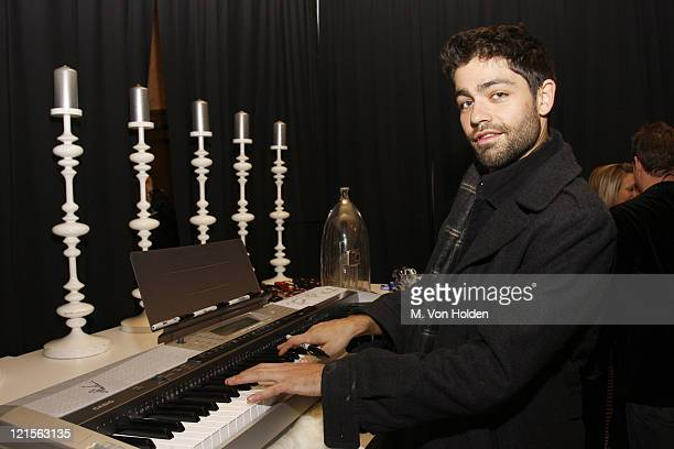 Adrian Grenier during Stuff Magazine Toys for Bigger Boys - Casio Gifting Area at Hammerstein Ballroom in New York City, New York, United States.