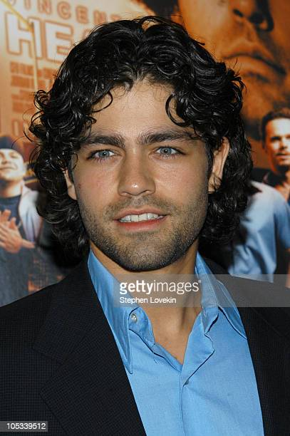 "Adrian Grenier during The HBO Series ""Entourage"" New York Premiere at Loews E-Walk Theatre in New York City, New York, United States."