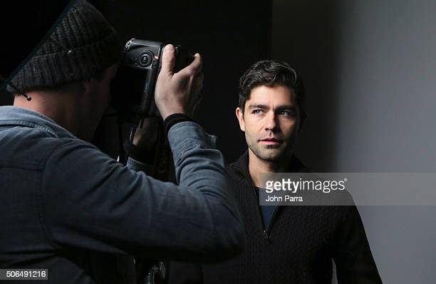 Adrian Grenier from the film ''Trash Fire' posed for a portrait during The Hollywood Reporter 2016 Sundance Studio At Rock Reilly's Day 2 on January...
