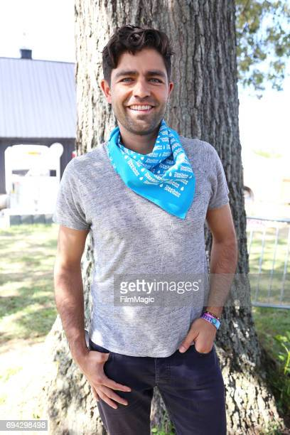 Adrian Grenier is seen at the Think Twice Drink Twice Small Steps for Big Impact panel at the Solar Stage during Day 2 of the 2017 Bonnaroo Arts And...