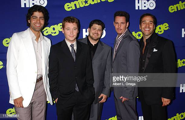 Adrian Grenier Kevin Connolly Jerry Ferrara Kevin Dillon and Jeremy Piven