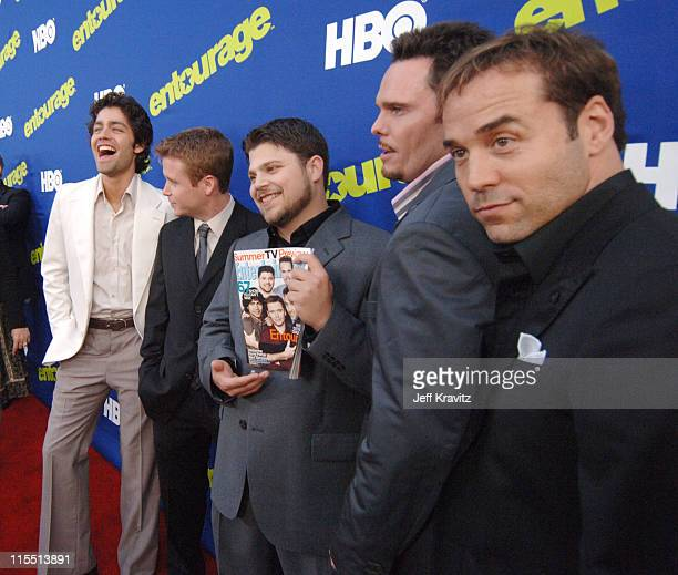 Adrian Grenier, Kevin Connolly, Jerry Ferrara, Kevin Dillon and Jeremy Piven