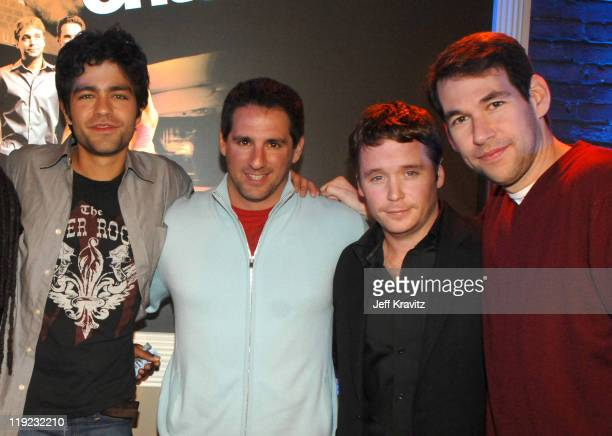 Adrian Grenier Stephen Levinson Kevin Connolly and Doug Ellin *Exclusive*