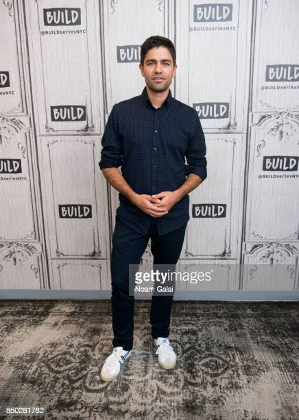 Adrian Grenier visits Build Series to discuss his nonprofit organization 'Lonely Whale Foundation' at Build Studio on September 20 2017 in New York...
