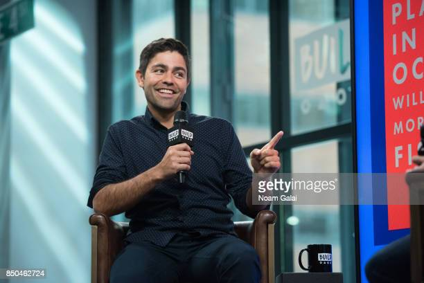"Adrian Grenier visits Build Series to discuss his nonprofit organization ""Lonely Whale Foundation"" at Build Studio on September 20, 2017 in New York..."
