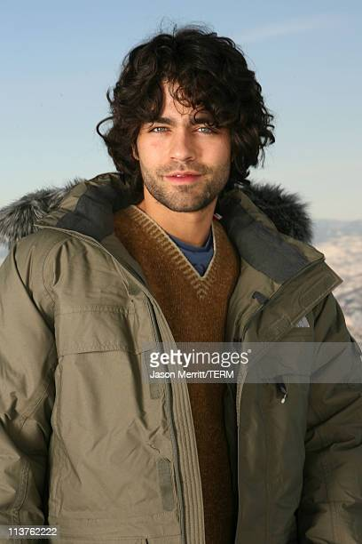 Adrian Grenier with North Face at The North Face House *Exclusive Coverage*