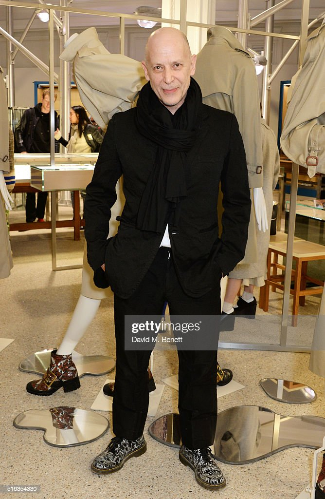 Adrian Joffe attends an exclusive VIP preview of the Dover Street Market on March 18, 2016 in London, England.