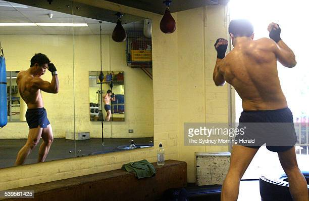 Adrian Khoo training at H K Ward Gym at Sydney University Khoo is a post graduate student studying finance and banking and is president of the...