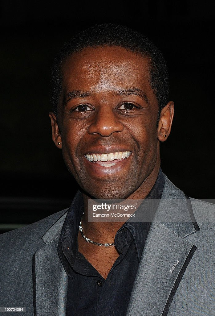 Adrian Lester attends the London Evening Standard British Film Awards at the London Film Museum on February 4, 2013 in London, England.