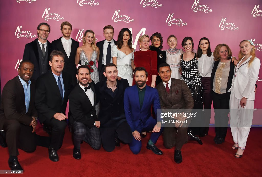 """""""Mary Queen Of Scots"""" European Premiere - VIP Arrivals : News Photo"""