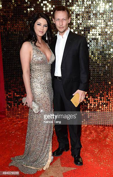 Adrian Lewis Morgan attends the British Soap Awards held at the Hackney Empire on May 24 2014 in London England
