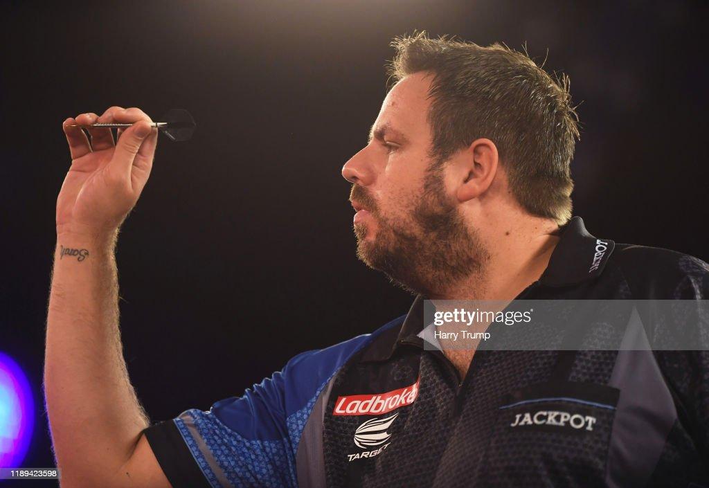 PDC Players Darts Championship : News Photo