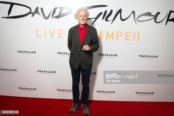 Adrian Maben arrives for the David Gilmour 'Live At Pompeii' premiere screening at Vue West End on September 5 2017 in London England